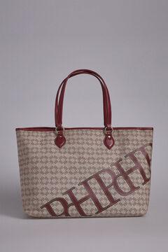 Pedro del Hierro Canvas shopper bag Red