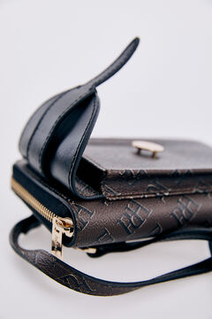Pedro del Hierro Wallet and phone case bag Black