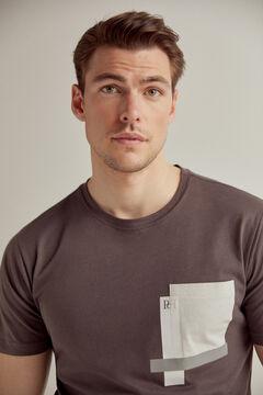 Pedro del Hierro Short-sleeved t-shirt Grey