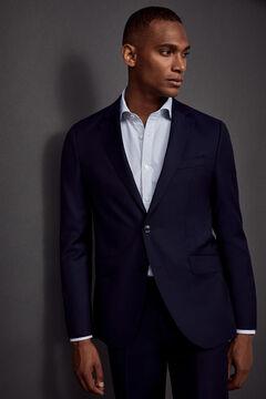 Pedro del Hierro Slim fit jacket Blue