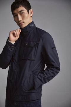 Pedro del Hierro TX Protect antimicrobial jacket Blue