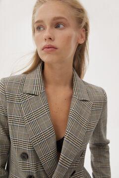 Pedro del Hierro Double-breasted blazer Grey