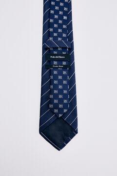 Pedro del Hierro Corbata rayas Azul