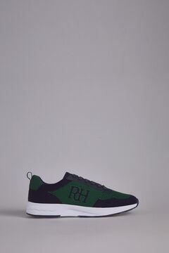 Pedro del Hierro Sneaker pele sola borracha Azul