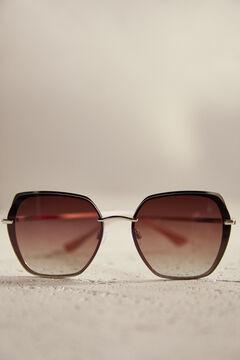 Pedro del Hierro Óculos metálicos Marrom