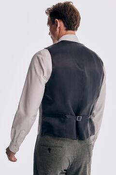 Pedro del Hierro Colete cinzento tailored fit Cizento