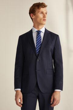 Pedro del Hierro Americana rayas tailored fit Azul