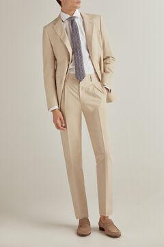 Pedro del Hierro Slim fit textured non-iron dress shirt White