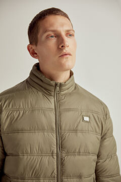 Pedro del Hierro Ultralight quilted jacket Grey