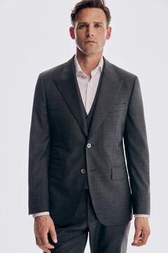 Pedro del Hierro Blazer cinzento tailored fit Cizento