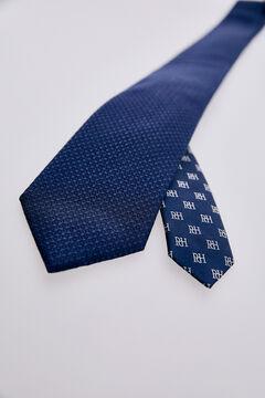 Pedro del Hierro Corbata falso liso Azul