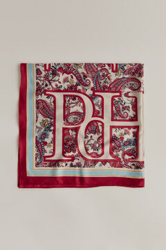 Pedro del Hierro Printed shawl Red