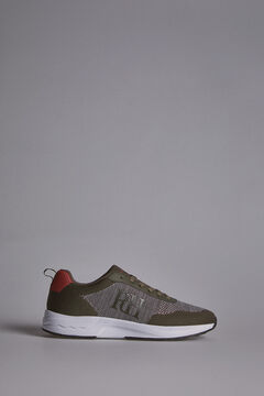 Pedro del Hierro Light-soled runner sneaker Green