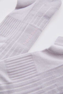 Pedro del Hierro Plain sports socks Grey