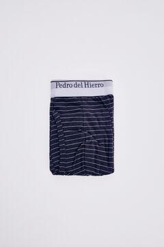 Pedro del Hierro Striped jersey-knit boxers Blue