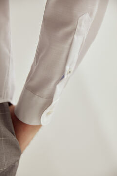 Pedro del Hierro Plain non-iron dress shirt White
