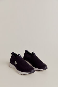 Pedro del Hierro Slip-on recycled sneaker Blue