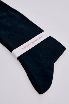 Pedro del Hierro Plain stretch socks Black
