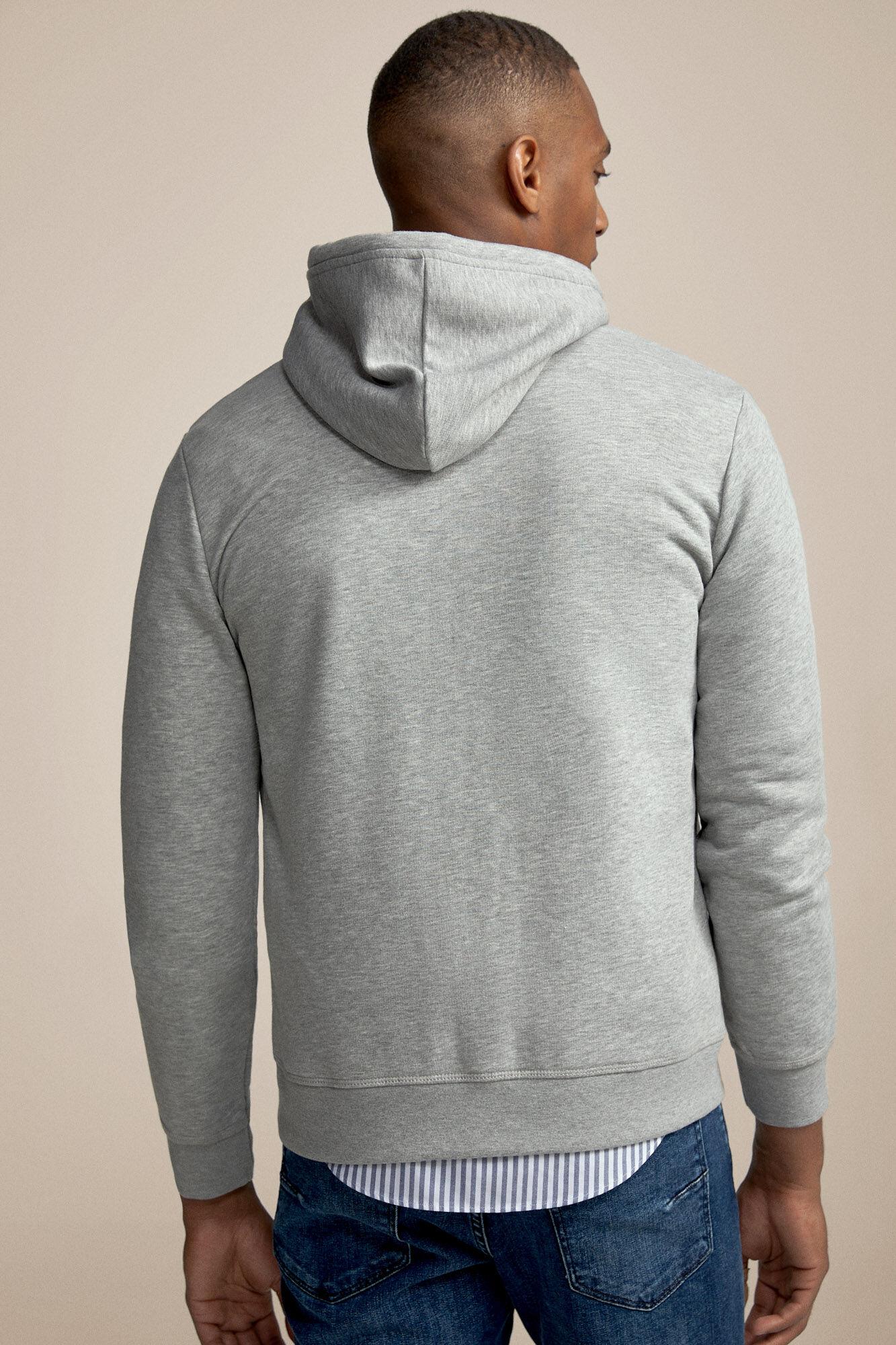 Casaco de malha algodão fecho éclair | Malhas | Fifty
