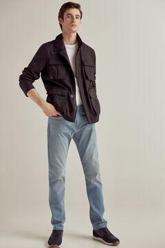 Pedro del Hierro Premium Summer Flex Slim jeans Blue