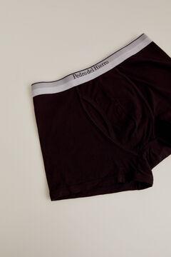 Pedro del Hierro Plain jersey-knit boxers Black