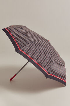 Pedro del Hierro Guarda-chuva logo marinheiro Azul