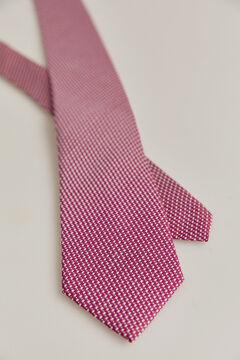 Pedro del Hierro Micro textured tie Pink