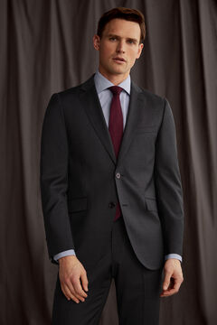 Pedro del Hierro Grey slim fit blazer Grey