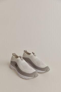 Pedro del Hierro Slip-on recycled sneaker White