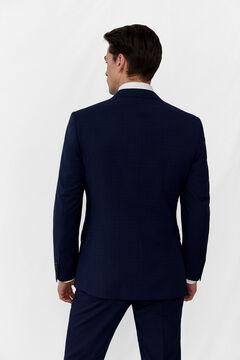 Anti stain slim fit square suit