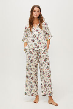 Printed shirt and trousers set