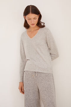 Homewear set in grey tones