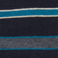 Cortefiel Multistripe socks Navy