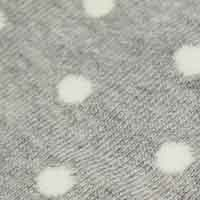 Cortefiel Long spotty print socks Gray