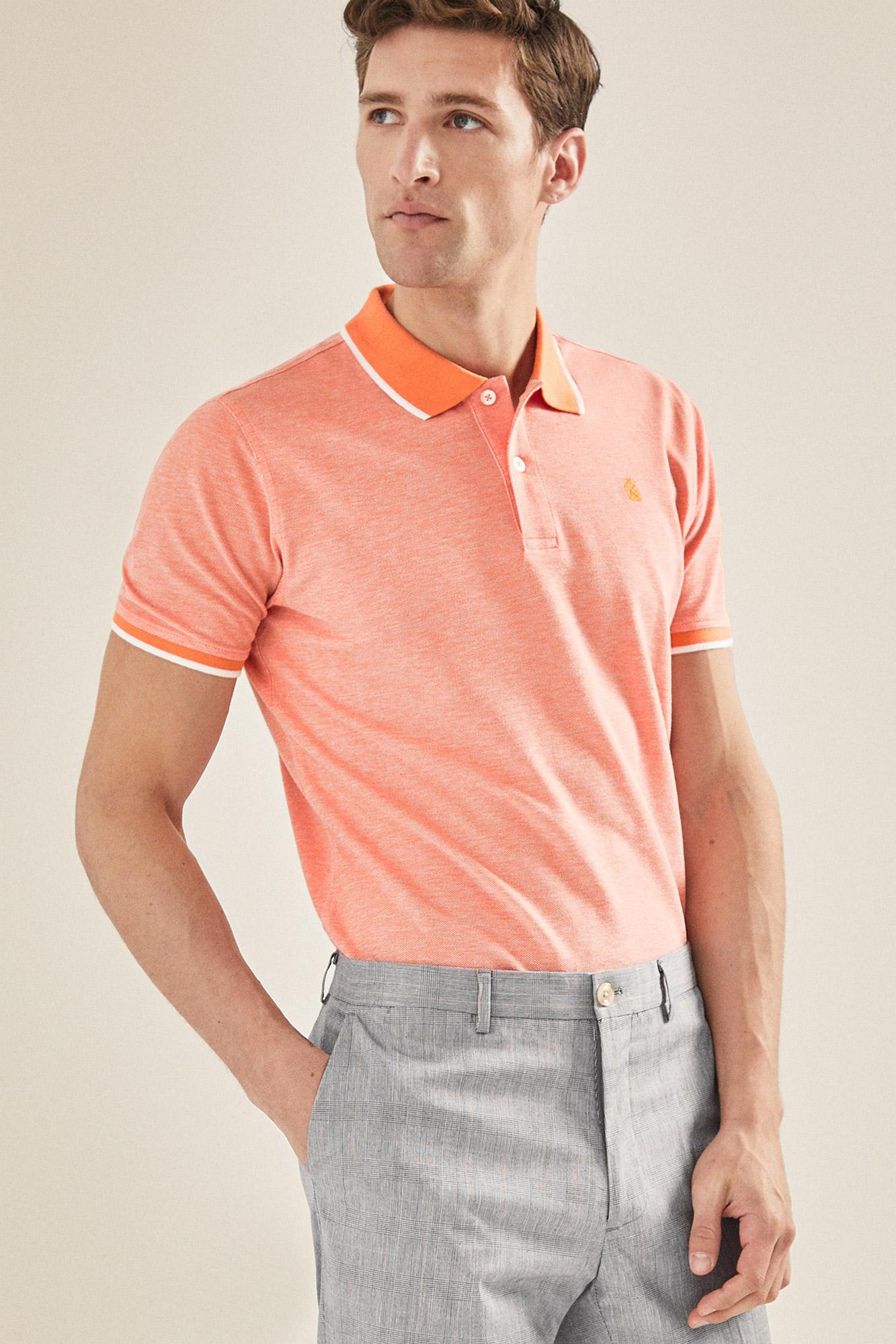 e7919a07c Basic short-sleeved polo shirt